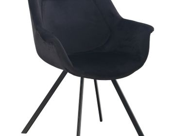 Fauteuils - Ray Arm Chair black - POLE TO POLE