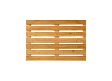 Mounting accessories - Anti-slip bamboo bath mat BA70150 - ANDREA HOUSE