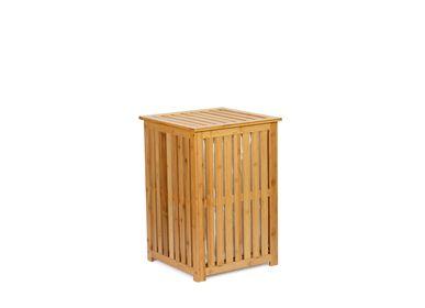 Laundry baskets - Bamboo laundry hamper BA70152 - ANDREA HOUSE