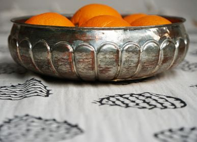 Linge de table - TIRE-THÉ IMPRIMÉ À LA MAIN SERVIETTE DE CUISINE SERVIETTE DE COTON SERVIETTE DÉCORATIVE - LALAY