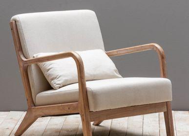 Armchairs - Beige armchair Chassepierre - CHEHOMA