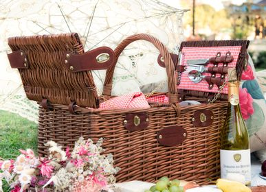 Outdoor decorative accessories - Picnic basket - 4 people - LES JARDINS DE LA COMTESSE