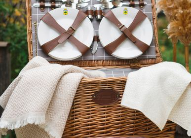 Outdoor decorative accessories - Picnic basket - 6 persons - LES JARDINS DE LA COMTESSE