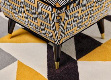 Upholstery fabrics - INTERCEPTION JACQUARD VELVET - ALDECO INTERIOR FABRICS