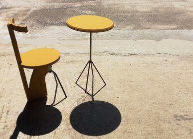 Meubles de cuisines - Chaise Rudder jaune - LIVING MEDITERANEO