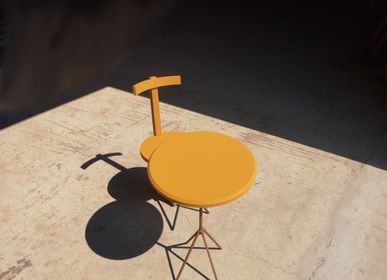 Kitchens furniture - Rudder chair yellow - LIVING MEDITERANEO