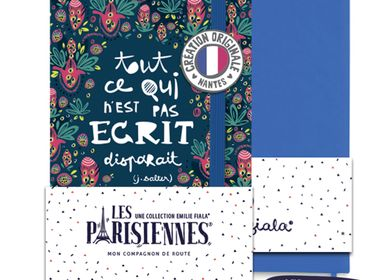 Papeterie - Carnet Les Parisiennes Rio - LES PARISIENNES D'EMILIE FIALA