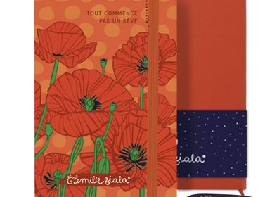 Travel accessories / suitcase - Notebook Les Parisiennes Poppy - LES PARISIENNES D'EMILIE FIALA