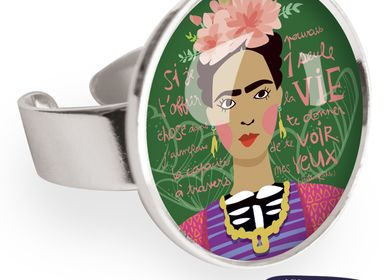 Jewelry - Big ring with all 925 silver finish Les Parisiennes Frida - LES PARISIENNES D'EMILIE FIALA