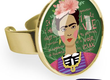 Jewelry - Big ring fully gilded with fine gold Les Parisiennes Frida - LES PARISIENNES D'EMILIE FIALA