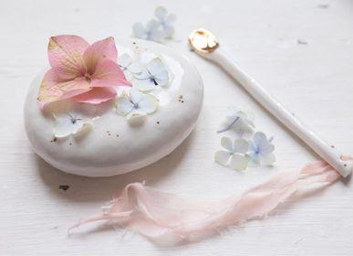 Ceramic - pebble spades flowers - MYRIAM AIT AMAR