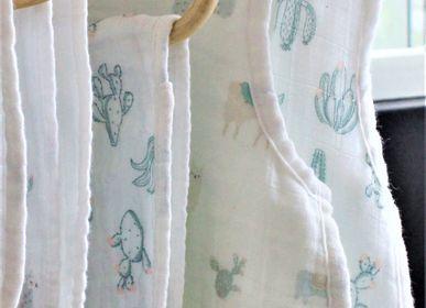 Vêtements de nuit - SLEEPING BAG BABY MUSLIN LLAMA MOTIF - PETIT ALO