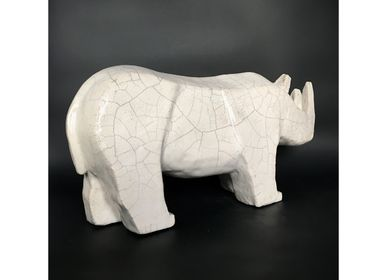 Sculpture - Loo - Rhinoceros - FRENCH ARTS FACTORY