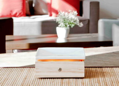 Design objects - Stonélia Square: Gentle heat diffuser - INNOBIZ