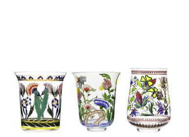 Art glass - Oriental Flowers - J. & L. LOBMEYR