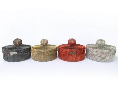 Casket / box - Tudung Woven Wire Box - NYAMAN GALLERY BALI
