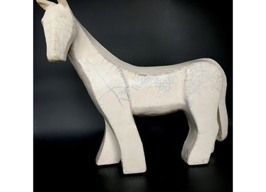Sculptures, statuettes and miniatures - Nyx - Horse Sculpture - FRENCH ARTS FACTORY