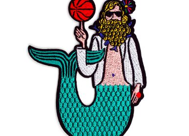 Children's fashion - Large Patch - Merman - MACON & LESQUOY