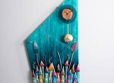 Horloges - Ateleia | Horloge murale pendule - PITEROS DIMITRIS