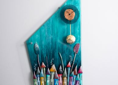 Clocks - Ateleia | Pendulum wall clock - PITEROS DIMITRIS