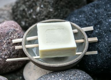 Gifts - STONEWARE SOAP DISH - COOL COLLECTION