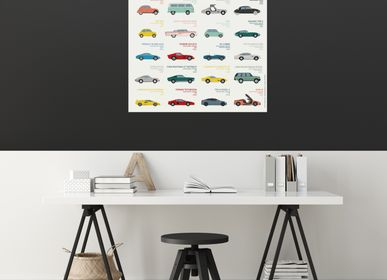 Other wall decoration - POSTER/AUTOMOBILES - LES JOLIES PLANCHES