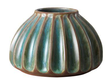 Céramique - Grand vase rond, terre cuite - STHÅL