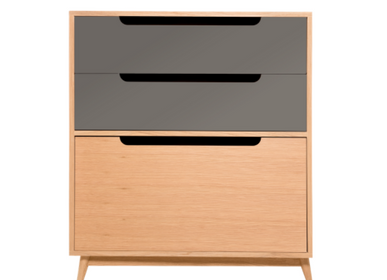 Furniture and storage - CHEST OF DRAWERS MOCHA DARK GREY - KULILE