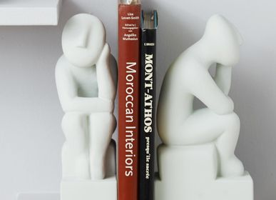 Decorative objects - Thinker Bookend set of 2 - SOPHIA ENJOY THINKING