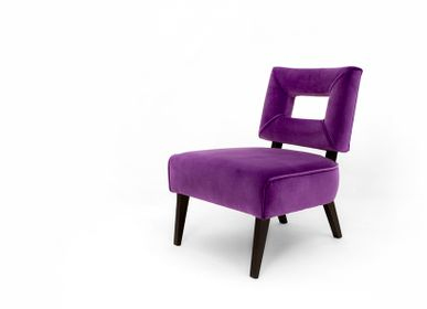 Armchairs - Purple Smith Armchair - MYTTO