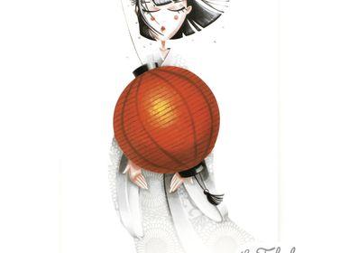 Stationery store - Rectangular postcard Les Fabuleuses d'Emilie FIALA Art for Japan - LES FABULEUSES D'EMILIE FIALA