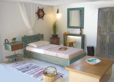 Beds -  Bed  Solid wooden  Philosopher  - LIVING MEDITERANEO