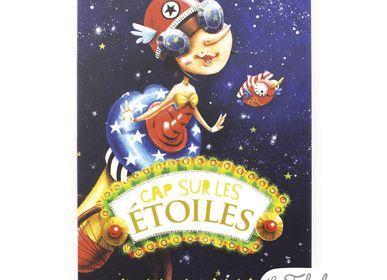 Stationery store - Wish card Les Fabuleuses d'Emilie FIALA Cap sur les Etoiles - LES FABULEUSES D'EMILIE FIALA