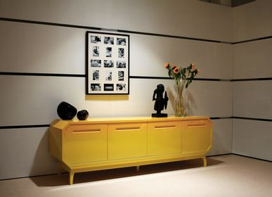 Sideboards - Lacquer Degradee Sideboard Mirtillo  - MYTTO