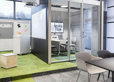 Office design and planning - Think Tank NOOXS Freestanding Room - BENE
