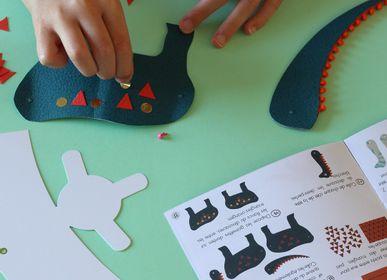 Cadeaux - Kit de loisirs créatifs et éducatif « Dinosaures» - Jouets DIY enfant - L'ATELIER IMAGINAIRE