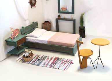 Beds -  Bed  Solid wooden  Philosopher  - LIVING MEDITERANEO