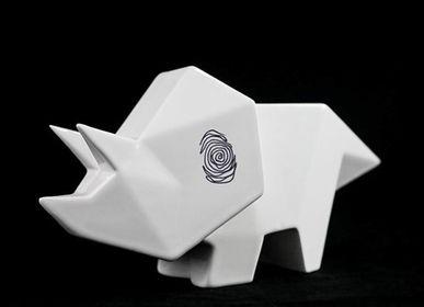 Céramique - Sculpture en céramique avec empreinte digitale - WOLOCH COMPANY
