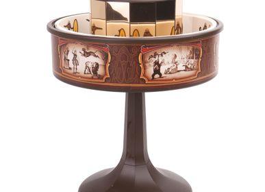 Objets design - Praxinoscope miniature classique marron - HEMISFERIUM