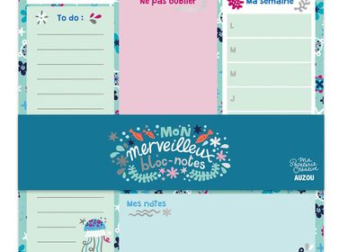 Creative Hobbies - My creative stationery oceans - AUZOU