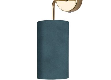 Wall lamps - Small fabric shades - EBB & FLOW