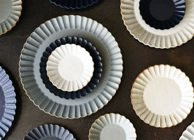 Ceramic - Barbarie Plate - MARUMITSU POTERIE