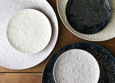 Ceramic - Framboise plate - MARUMITSU POTERIE