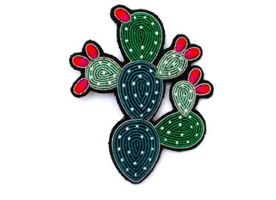 Children's fashion - Brooch - Prickly Pear - MACON & LESQUOY
