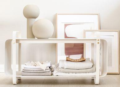 Design objects - Bench Ninne - Blanc - ELDVARM