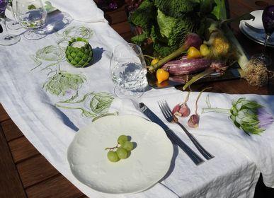 Table linen - Table runner ARTICHOKE mod.1 - ARTIPARIS