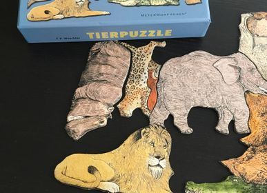 Decorative objects - Tierpuzzle - Puzzle of 33 animals - PA DESIGN