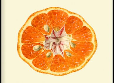 Affiches - Affiche Fruits, Mandarine Open. - THE DYBDAHL CO.