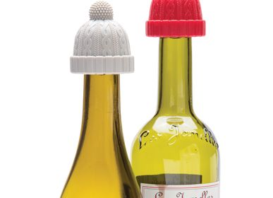 Decorative objects - Beanie Wine Bottle Stopper - PA DESIGN