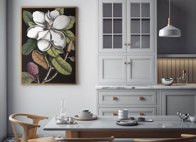 Poster - Poster Wonderland, Blooming White Magnolia. - THE DYBDAHL CO.
